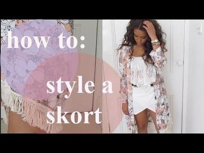 How To: Style A Skort - N1kk1sSecr3t