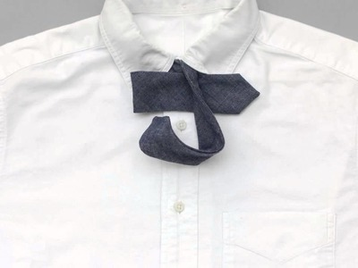 How To Tie a Bow Tie (without hands getting in the way) by The Hill-Side