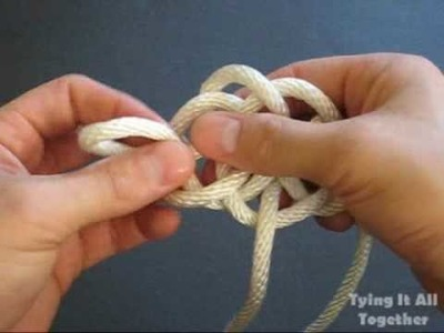 How to Tie a River Knot by TIAT (Rare Instruction)