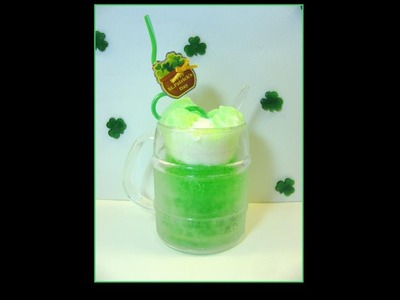 Irish Cream Soda Float - St. Patrick's Day Drink for Kids and Teens