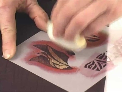 Jacquard Products Presents: Stenciling Techniques On Fabric with Diane Ericson, Part 2