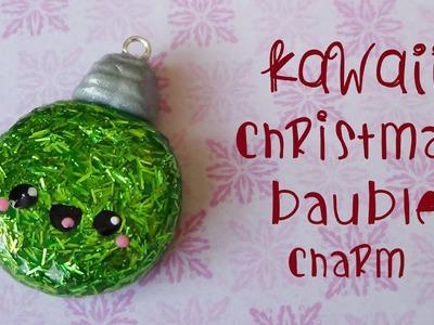 Kawaii Christmas Bauble Charm! - Polymer Clay Tutorial {Christmas month #3}