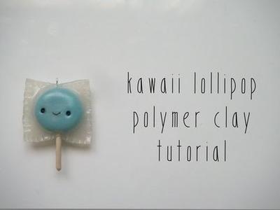 Kawaii Polymer Clay Lollipops Tutorial