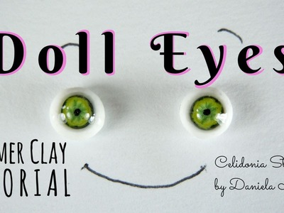 Lifelike ooak Doll Eyes 1.12 and other scales - Polymer Clay Tutorial