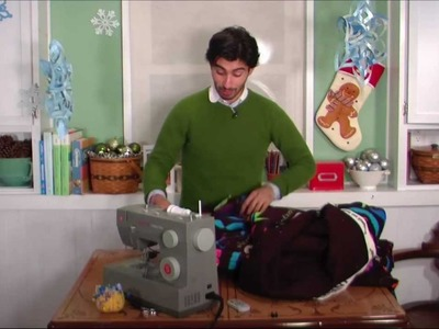 """Making a Quick Blanket out of """"Ultra Cuddle"""" Fabric"""