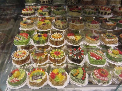 Miniature Polymer Clay Cakes in Malaysia