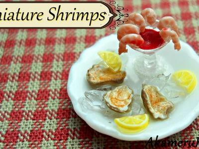 Miniature Shrimps - Polymer clay cane tutorial