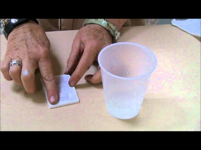 Mixed Media in Minutes: Image transfers on polymer clay with Laurie Mika.wmv