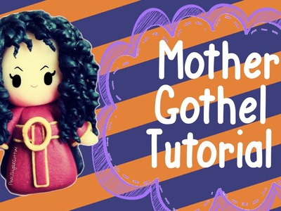 Mother Gothel Chibi | Polymer Clay Tutorial