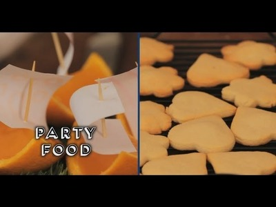 PARTY TREATS: FOOD FOR KIDS