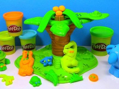 Play Doh Jungle Pets Animal Activities Play-Doh Turtle, Elephant, Monkey Playdough