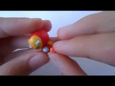 Polymer Clay Iron Man