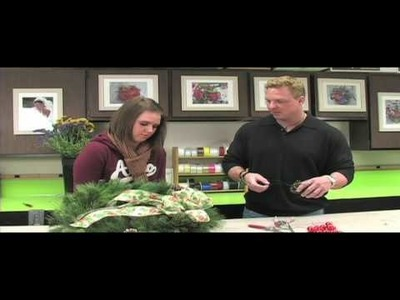 Russ on Flowers Show 40 - How to Decorate a Wreath