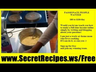 Secret Apple Cake Recipe