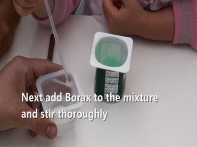 So how do you make slime?