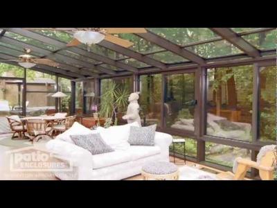 Solarium Pictures, Photos and Decorating Ideas from Patio Enclosures™