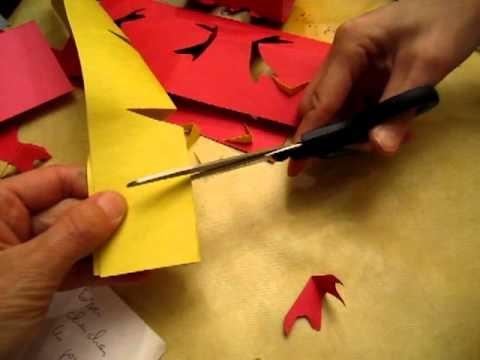 Try to make paper lantern 02