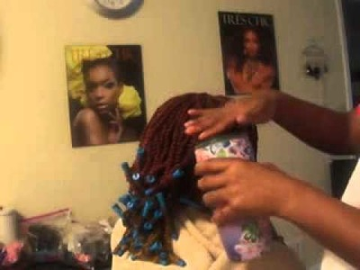 Tutorial: How To Curl Kinky Twist w. Perm Rods ❤❤❤