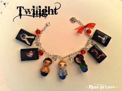 Twilight Polymer clay Bracelet