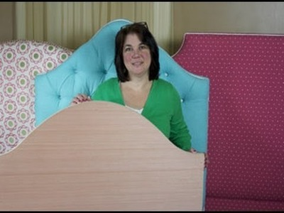 Upholstery How To Assemble a Ready To Cover Headboard
