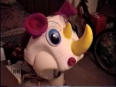 What`s inside a mascot costume ?
