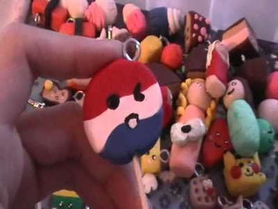 All my polymer clay charms! :3