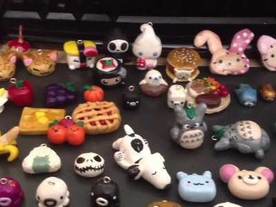ALL MY POLYMER CLAY CHARMS COLLECTION