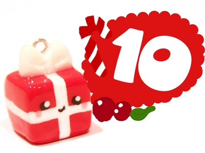 ❤ Christmas Gift! Kawaii Christmas 10 -Polymer Clay tutorial