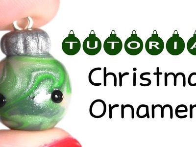 Christmas Ornament ❅ Polymer Clay Charm Tutoial