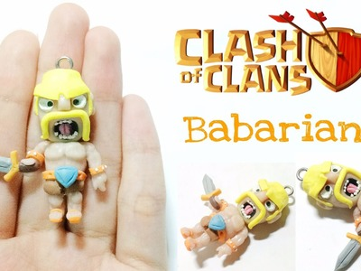 [Clash Of Clan Series] Polymer Clay Barbarian Tutorial