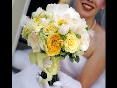 DIY Wedding Flowers Ideas: How To Make Cute Bridal Bouquet