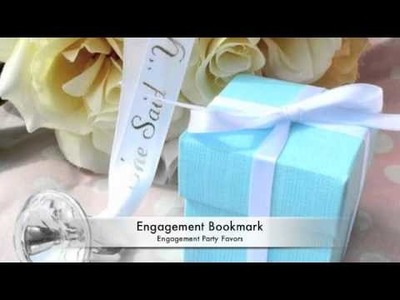Engagement Party Favor and Decoration Ideas
