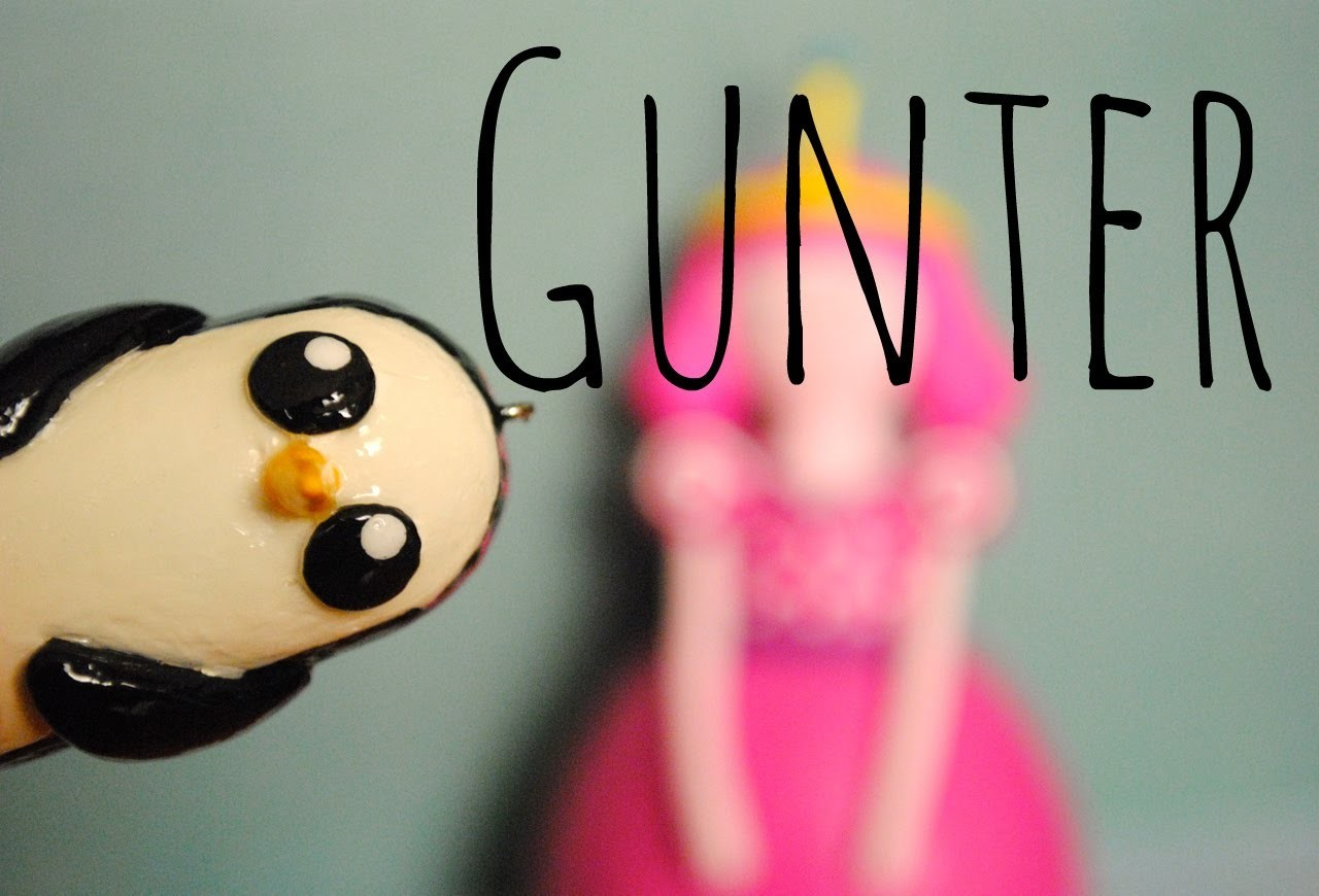GUNTER Polymer Clay Tutorial- Adventure Time
