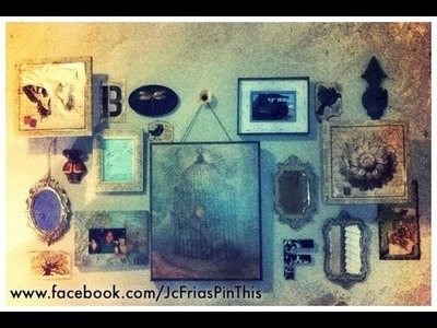 How to Arrange, Create & Make a Picture Gallery Wall easy tips!