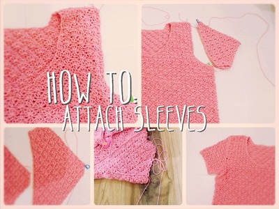 How to attach sleeves
