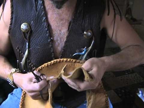 How to be making a leather cowboy hat from scratch part 3 top piece design