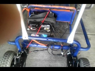 How to Make a Go Kart out of an Electric Wheelchair