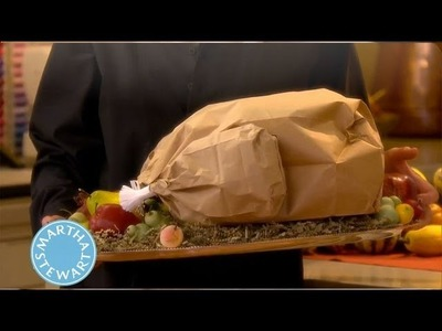 How to Make a Paper Bag Turkey | Thanksgiving Decorations | Martha Stewart