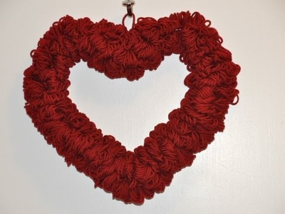 How to Make a Quick and Easy Valentine's Day Wreath.