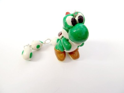 How to Make a Yoshi Charm from Polymer Clay