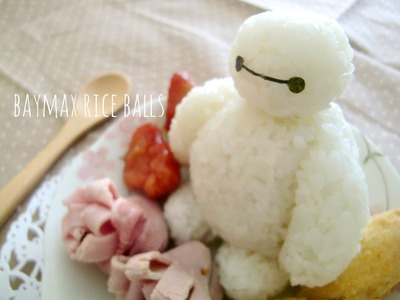 How to Make Big Hero 6 Baymax Onigiri (Bento Idea)