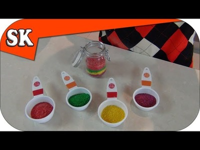 HOW TO MAKE COLORED SUGAR - Steve's Kitchen Tips