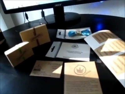 How to make your own business cards & packaging ideas