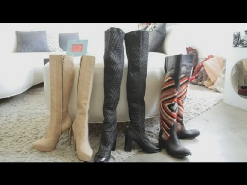 How to Wear Over-Knee Boots : Chic Fashions