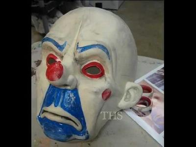 Joker Mask - The Dark Knight - Bank Heist mask prop replica rises