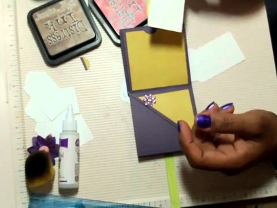 Meandering Mini Album With a Twist - Tutorial Part 2 of 2