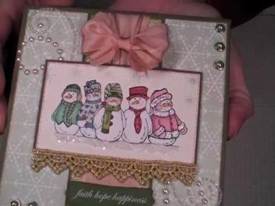 More Handmade Christmas Cards
