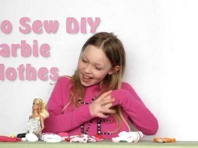 No-Sew Barbie Clothes