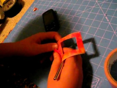 Part 1 how to make a duct tape cell phone case