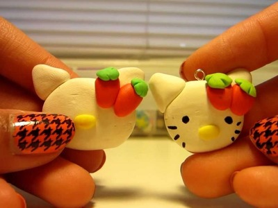 Polymer Clay Tutorial- Hello Kitty!